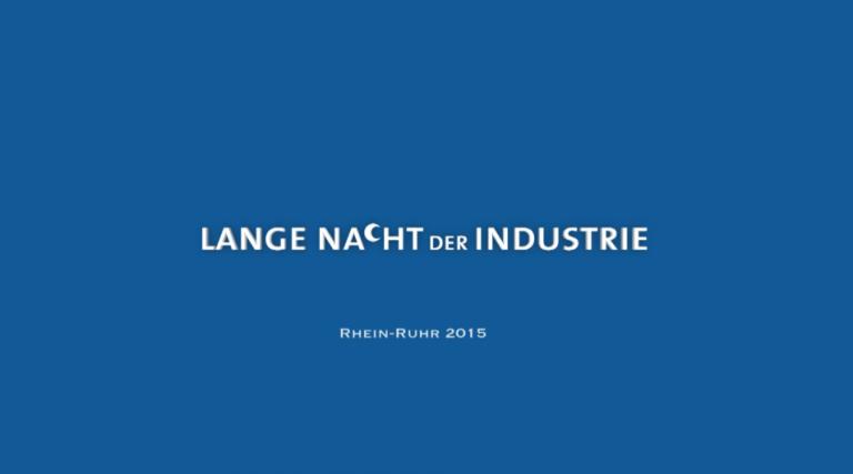 Eventfilm – Lange Nacht der Industrie 2015
